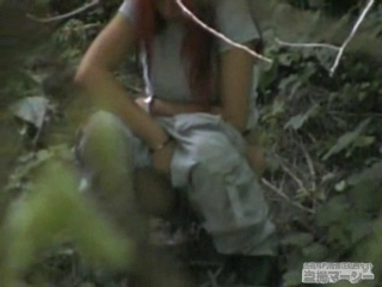 衝撃!ウエデイングドレスを着て野外発射!  黄金水 覗きおまんこ画像 96PICs 27