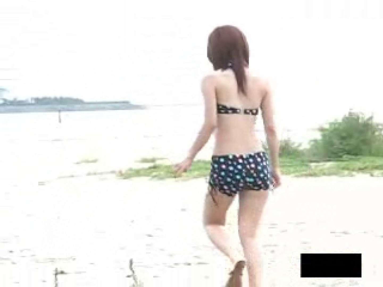 ビーチで発見!! 水着汚ギャル 放尿 | 野外  109PICs 1