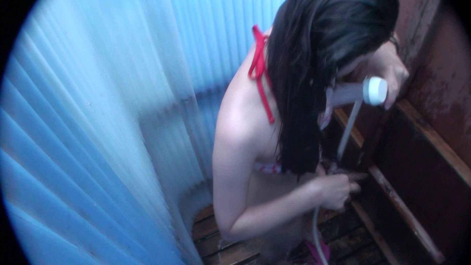 ハイビジョンシャワールームは超!!危険な香りVol.32 オッパイ隠して陰毛隠さず チラ見せ乳輪 OLエロ画像 盗撮ヌード画像 30PICs 2