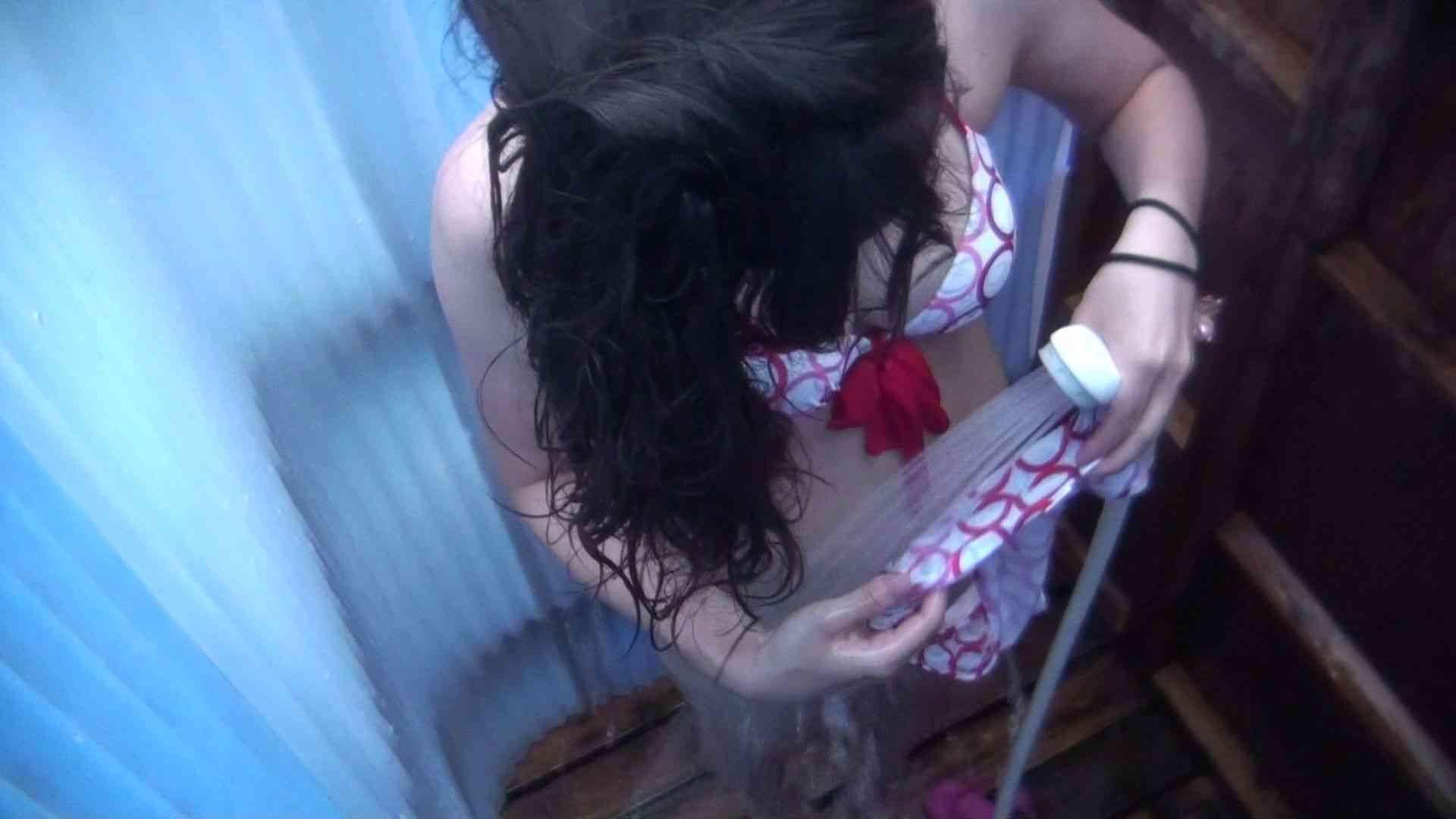 ハイビジョンシャワールームは超!!危険な香りVol.32 オッパイ隠して陰毛隠さず チラ見せ乳輪 シャワー  30PICs 8