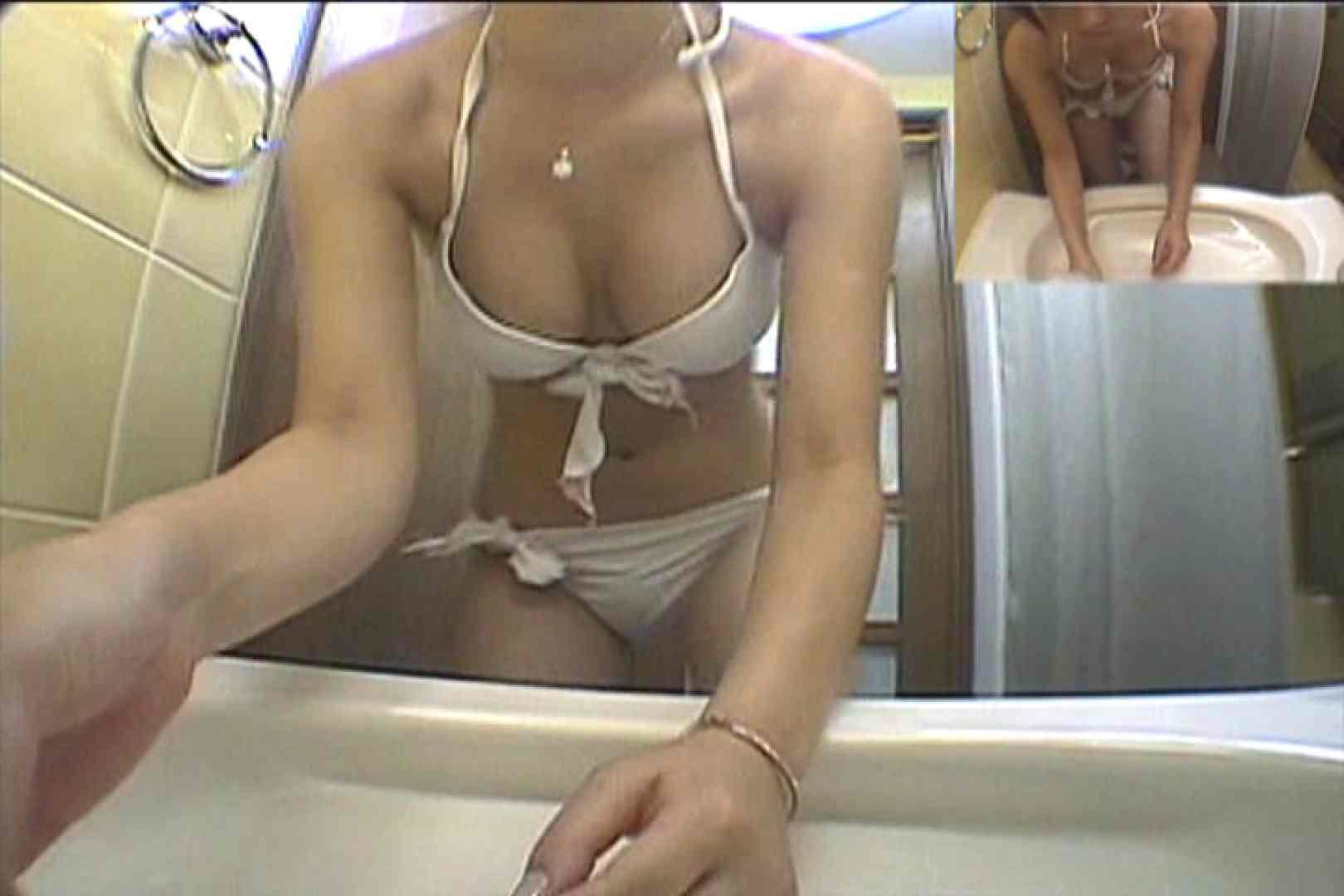 水着ギャルびっくり!! 洗面所盗撮Vol.10 シャワー AV動画キャプチャ 56PICs 48